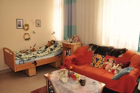 Bewohnerzimmer